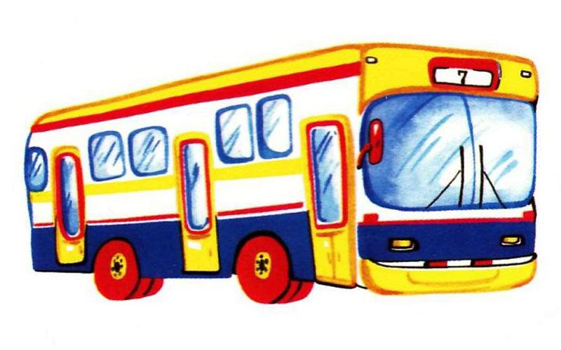 Дети рисуют автобус картинки